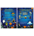 halloween holiday celebration traditions poster vector image vector image