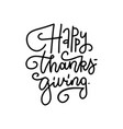 handwritten type lettering composition happy vector image