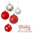 happy new year and merry christmas winter vector image vector image