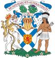 Nova Scotia Coat-of-arms vector image vector image