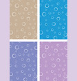 ring sponge backdrop vector image vector image