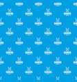 saber pattern seamless blue vector image vector image