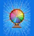 wheel of fortune stock vector image