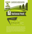 nature and gardens association poster