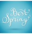 best spring vector image vector image