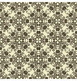floral sepia vector image vector image