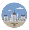 Hungarian Parliament Buildin vector image
