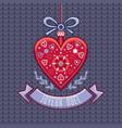 winter background christmas card joyeux noel vector image vector image