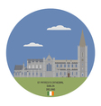 Church of Saint Patrick Dublin vector image vector image