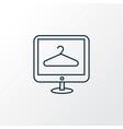 ecommerce icon line symbol premium quality vector image vector image
