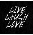 Laugh live love vector image vector image