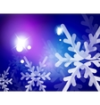 Merry Christmas abstract background vector image vector image