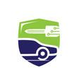 vehicle locksmith symbol vector image