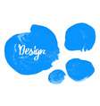 Watercolor colorful round spot vector image vector image