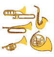 doodel design for different types of musical