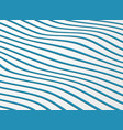 abstract wavy pattern of stripe line ocean vector image vector image