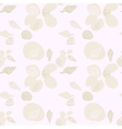 Beach Seashell and Sand Seamless Pattern vector image