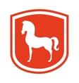 equestrian design vector image