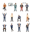 group business and office people vector image vector image