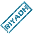 Riyadh rubber stamp vector image vector image