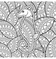 Animal design Adult coloring concept white