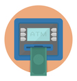 CircleATM vector image