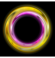 Colourful abstract rings vector image vector image
