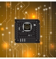 Modern Computer Technology Background vector image vector image