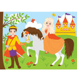 Princess and Prince vector image vector image
