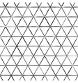 Seamless pattern with ink triangles drawing vector image vector image