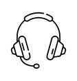 audio classes line icon concept sign outline vector image