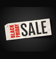 black friday season sale vector image vector image