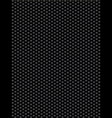 Black texture synthetic fiber geometric seamless b vector image vector image