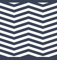 blue white chevron zigzag seamless pattern eps 10 vector image
