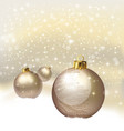 Christmas background - technology vector image vector image