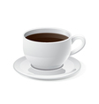 Coffee and Coffee Cup Icon vector image vector image