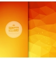 colored background with summer text vector image vector image
