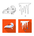 design of weather and climate sign vector image vector image