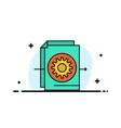 Document file gear settings business flat line