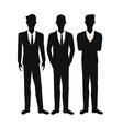 group people team work community vector image