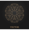 Logo design template creative monogram abstract vector image vector image