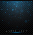 magic glow light effect vector image