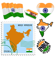national colours of India vector image vector image