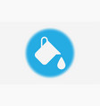 paint bucket icon sign symbol vector image vector image