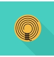Rope icon vector image vector image
