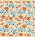 seamless pattern aircraft seamless space pattern vector image