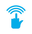 wi-fi wifi hatred wireless communication for vector image vector image