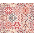 Abstract seamless pattern tiles vector image vector image