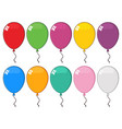 colorful balloons 03 collection vector image