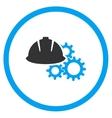 Engineering Flat Icon vector image vector image